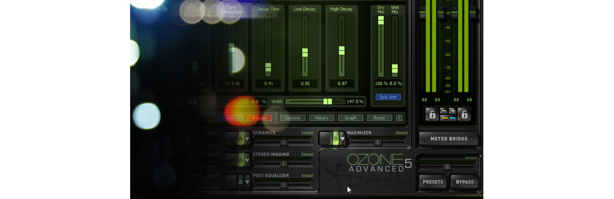 Mastering z iZotope Ozone 5