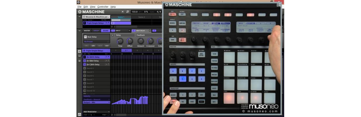 Produkcja muzyczna z NI Maschine