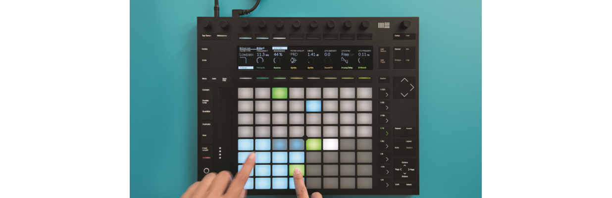 Kurs Ableton Push 2
