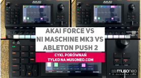 Akai Force vs Ableton Push...