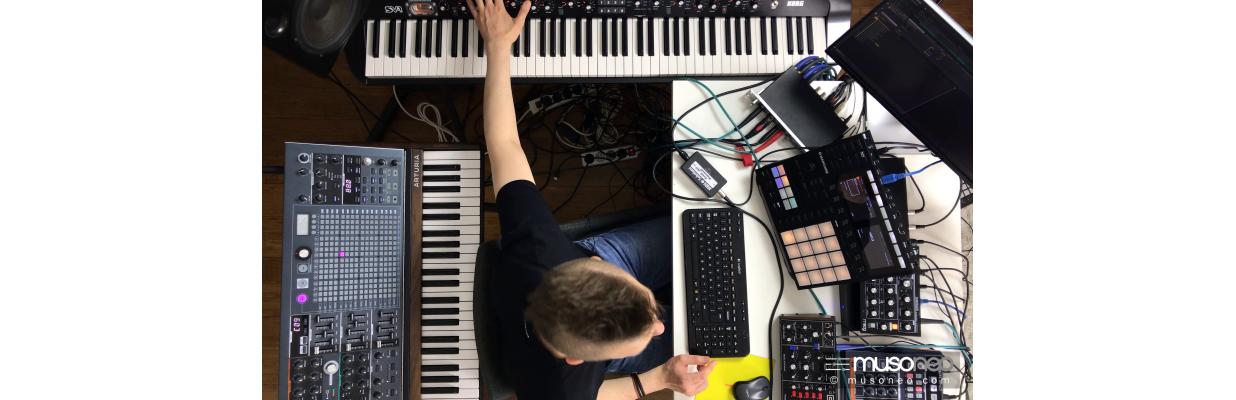 Kurs Hardware & Maschine jako sekwencer MIDI