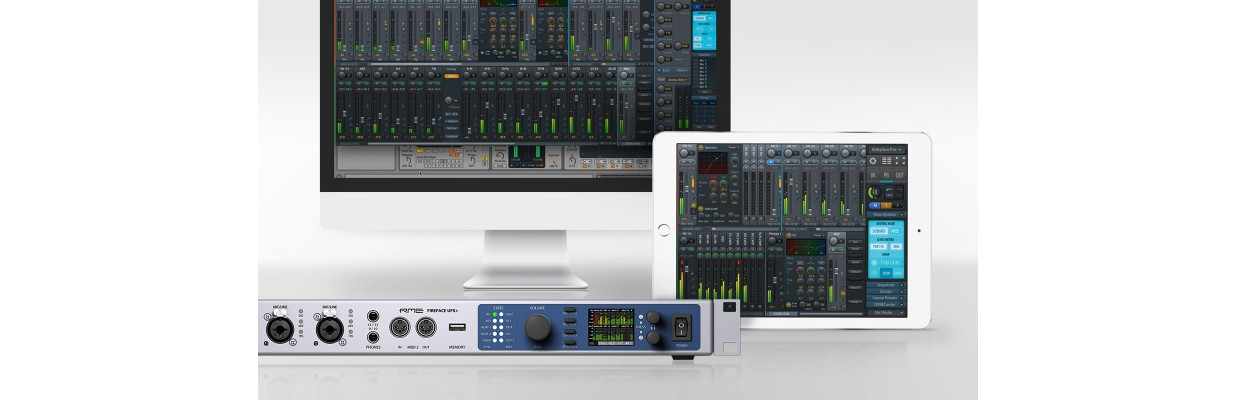 Kurs Interfejsy audio RME i Totalmix FX w praktyce