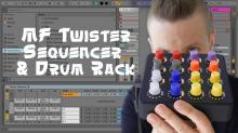 MF Twister z Drum Rack